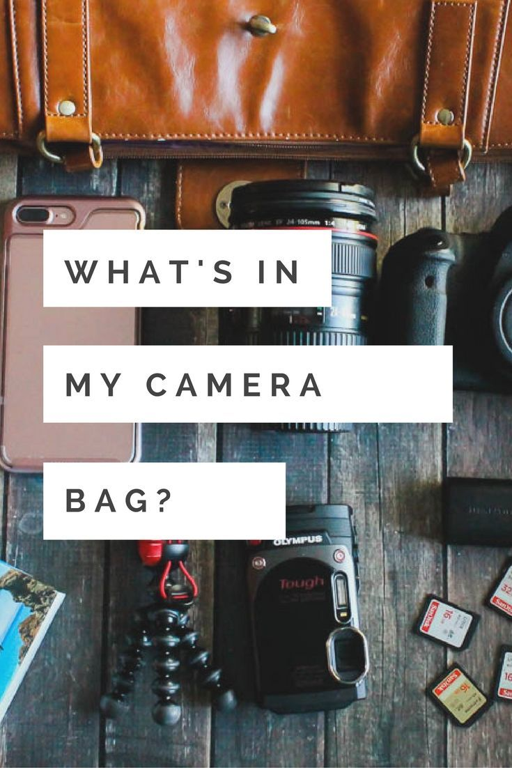 Take a peak inside what's in my camera bag when I travel to see my photography essentials