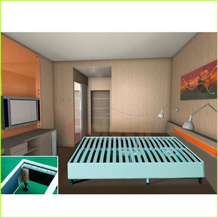 modern knock down space saving very cheap bed frame 030 - Bed Frame Cheap