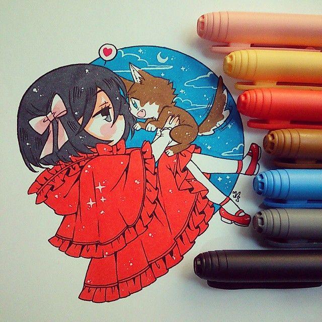 Mikasita roja y el lobo Eren X3 A mikasa le queda el rojo, la amo ewe…