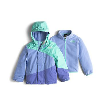 The North Face Toddler Girls' Mountain View Triclimate Fleece Jacket: Kids