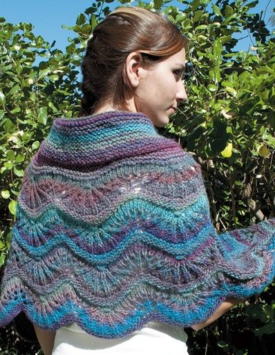 Shawls, Wraps and Ponchos from Leisure Arts. #shawl