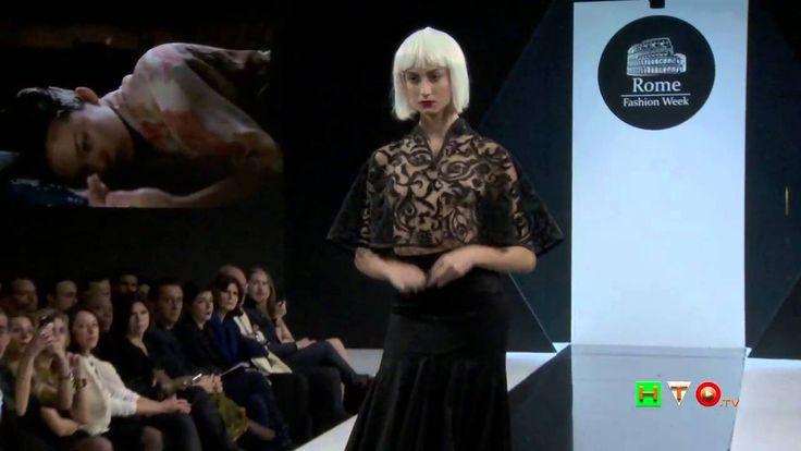 Rome Fashion Week – Seconda Serata – Sfilata di Iuliana Mihai  - www.HTO.tv