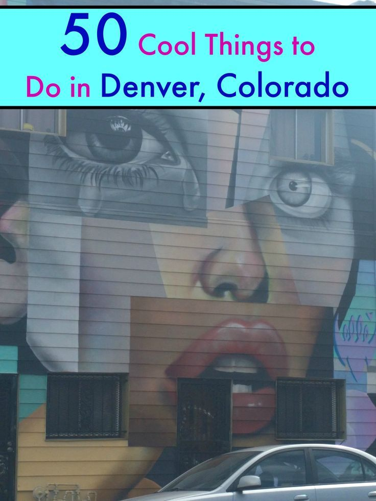 Planning on visiting Denver, Colorado and wondering what you should do? Here are 50 Cool Things to Do in Denver, Colorado on your next trip (or, if you just live here)
