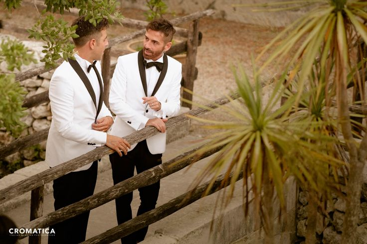 Wedding gay. Unione Civile Alessandro e Tony. Photo: Cromatica Abiti: Contaldo - Lecce Location: Masseria San Lorenzo - Lecce  Love is Love. Love wins.