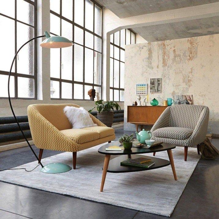 table basse vintage la redoute int rieur pinterest. Black Bedroom Furniture Sets. Home Design Ideas