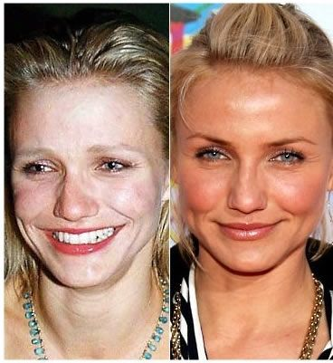Celebrities Caught Without Makeup.