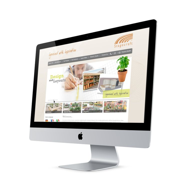 Stagecraft website design and program. #SourceDesign #Shrewsbury #WebDesign