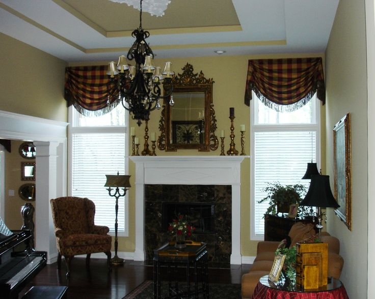 valances for living room window. Interior Ethnic Brown Plaid Window Valance Between White Fire Place Valances  for Living Room Windows Best 25 living room ideas on Pinterest Valences