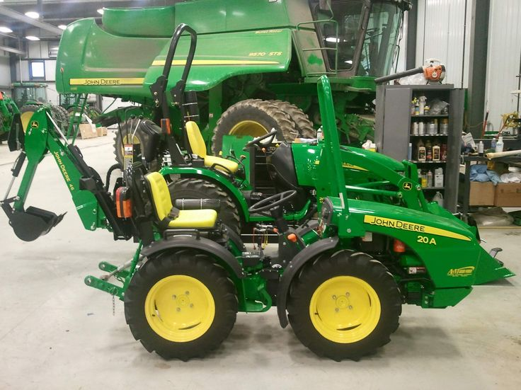 Small Tractor Implements And Attachments : John deere a google search tractors made in italy
