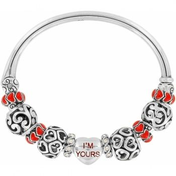 Brighton I'm Yours Bangle and charms