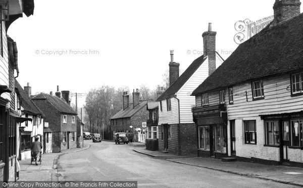 Robertsbridge, The Village c.1955, from Francis Frith