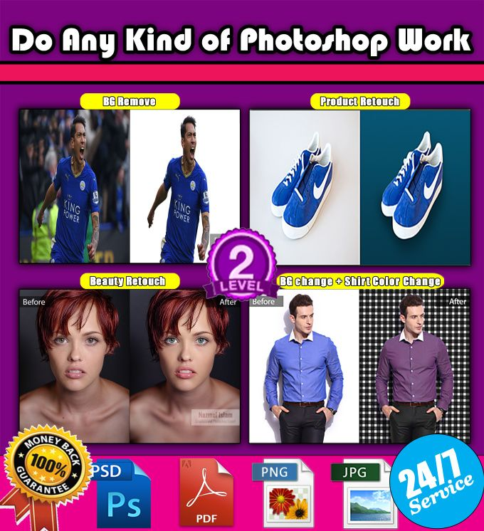 do any kind of photoshop work by nazmul_