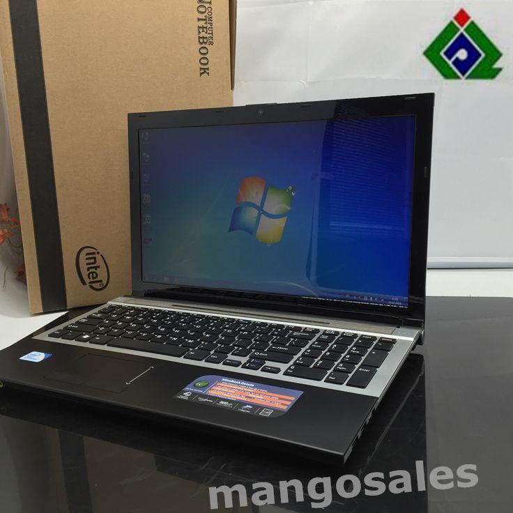 15.6 inch Snelle Surfen Windows7 notebook computer 8 GB + 1 TB HDD in-tel celeron J1900 2.0 Ghz Quad Core WIFI webcam DVD, 8 gb laptop