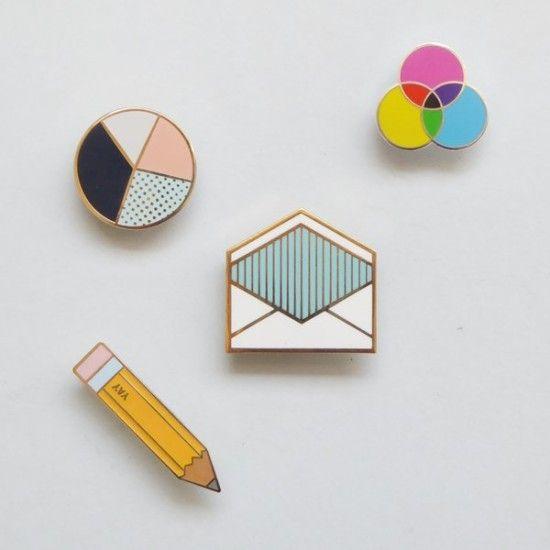 Present & Correct   Pencil Pin Envelope Pin   Graph pin