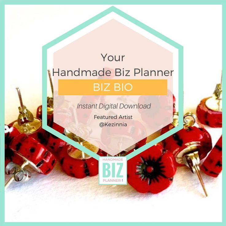 The Handmade Business Bio including all your basic creative biz fundamentals.