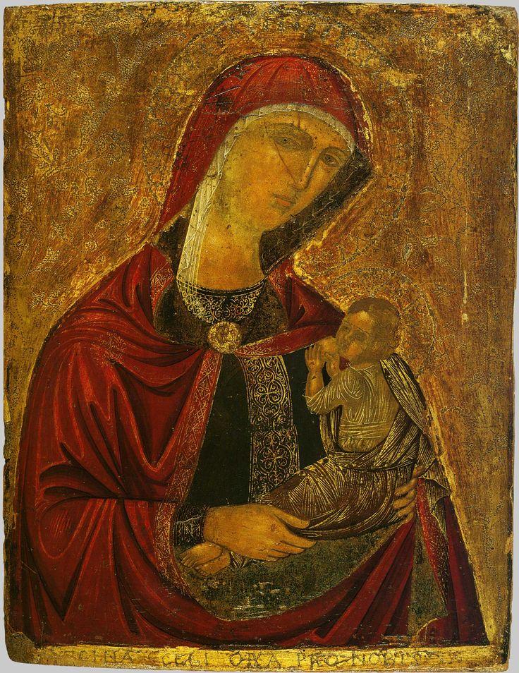Богоматерь Млекопитательница; Греция. Крит; XVI в.