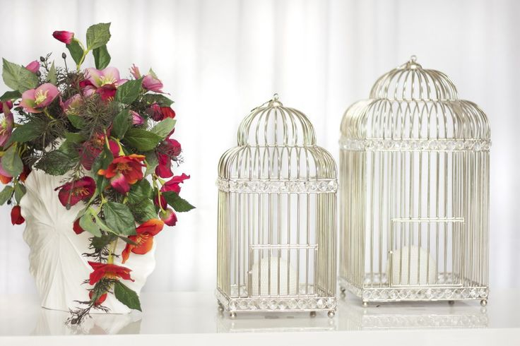 Birdcages #PureLiving #GreenApple #GAhomestyle #homestyle #birdcage #crystal #white #minimal