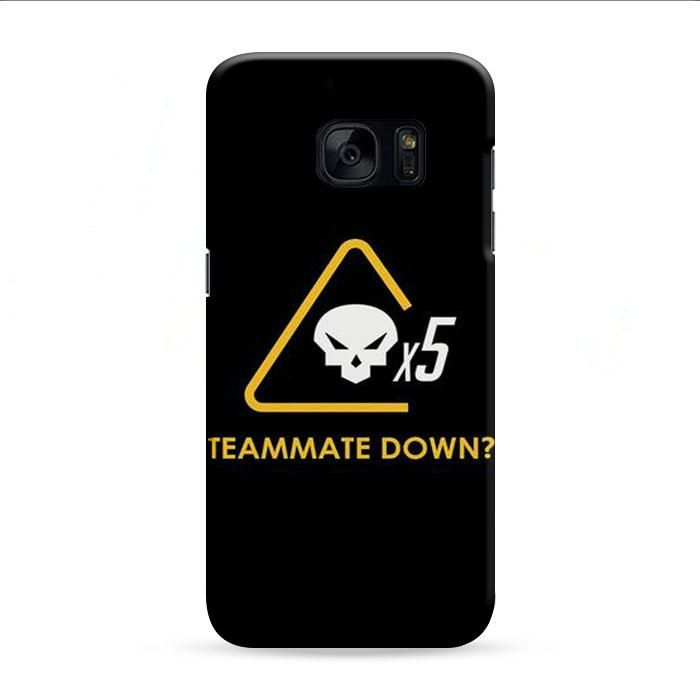 Teammate Down X5 Samsung Galaxy S7 Edge 3D Case