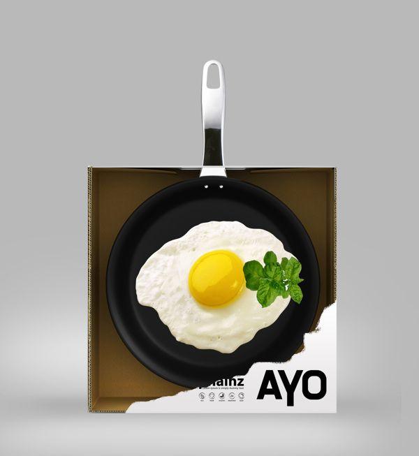 Ayo Cookware Package (design concept) by Eduard Kankanyan, via Behance