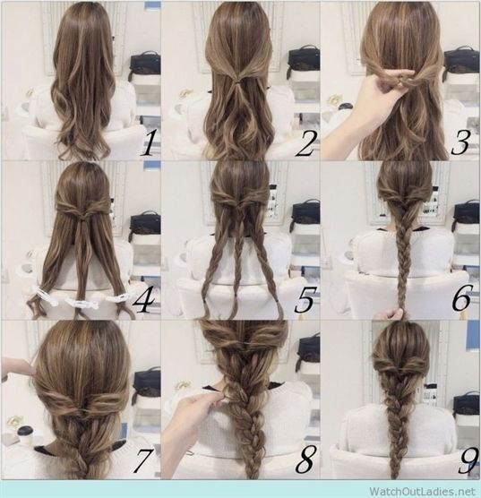 New Easy Hair Tutorials for Medium Hair for the School