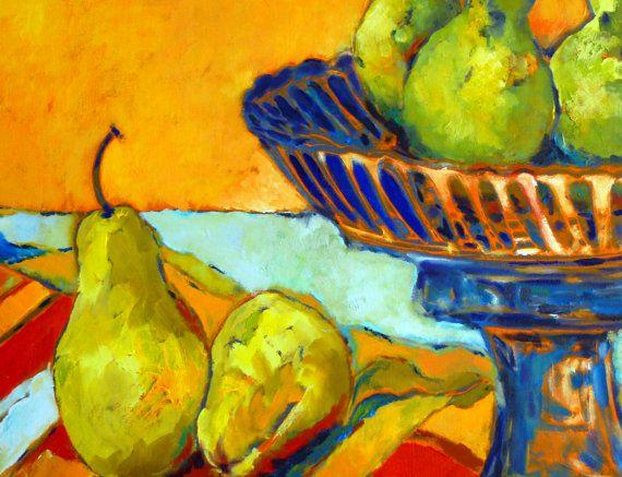art oil painting on canvas handmade still life by ArtsAnita
