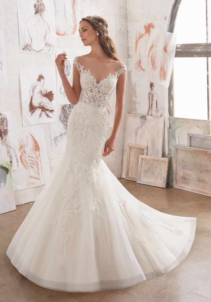 The 34 best Mori Lee images on Pinterest | Wedding frocks, Short ...
