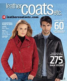 Women's leather coats, men's leather jackets & motorcycle jackets