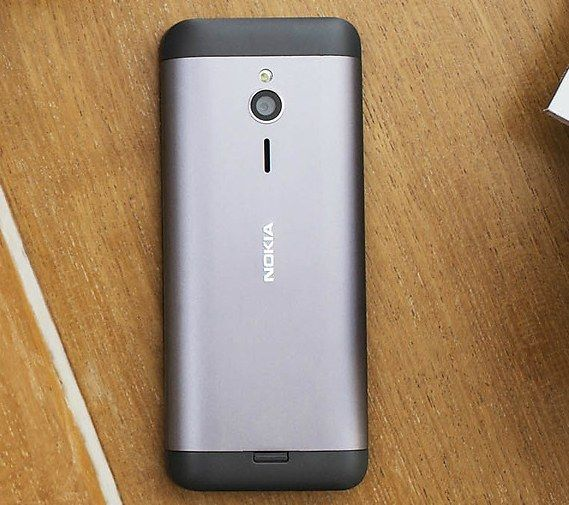 "Nokia 230: Official Display 2.8"" aluminum price $ 55."