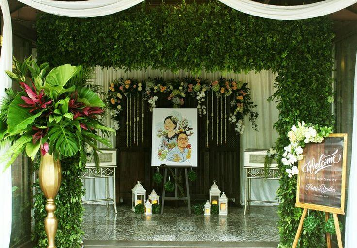 Rangkaian Dekorasi pintu masuk