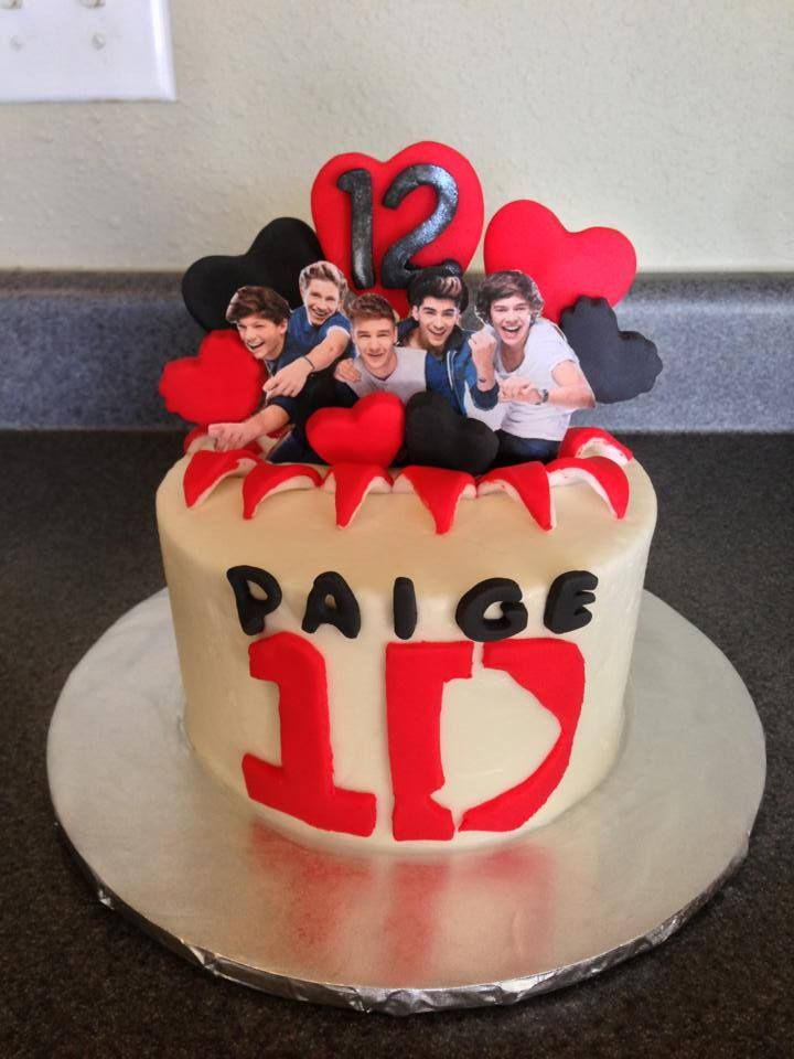 38 best 1D birthday cakes images on Pinterest Birthday cakes
