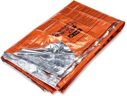 Survival Blanket- A light weight, compact survival blanket to warm up fast!