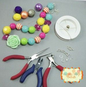 chunky necklace how to