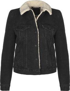 Levi's ® Original Sherpa Trucker W veste en jean noir