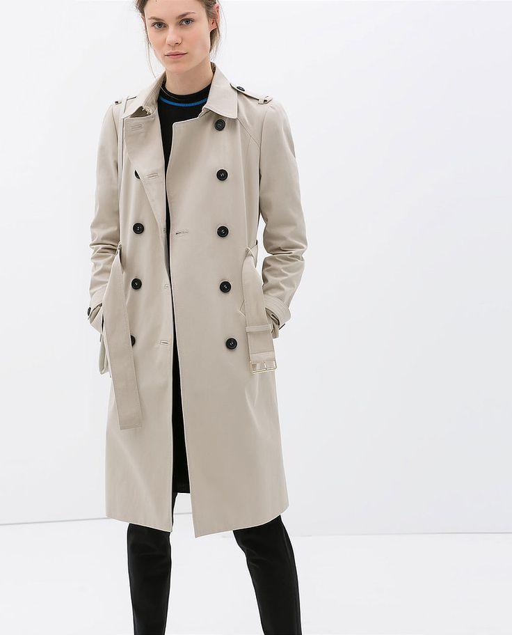 Coat, $199, Zara