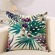1 Pcs Vintage Bohemia Tropical Flowers Printing Pillow Cover 45*45Cm Classic Pillow Case Sofa Cushion Cover – USD $ 5.99