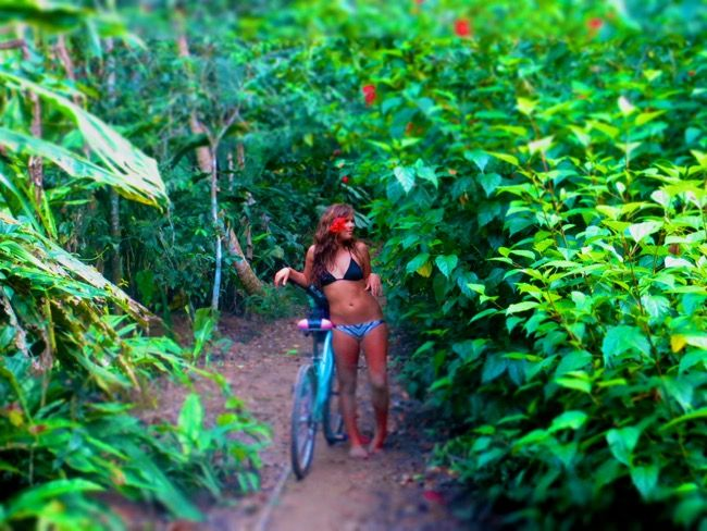 She ditched the 'American Dream' to create her own, on the beaches & in the jungle of Costa Rica. 5 MINUTES WITH CAMILLE, WILLEMAIN.