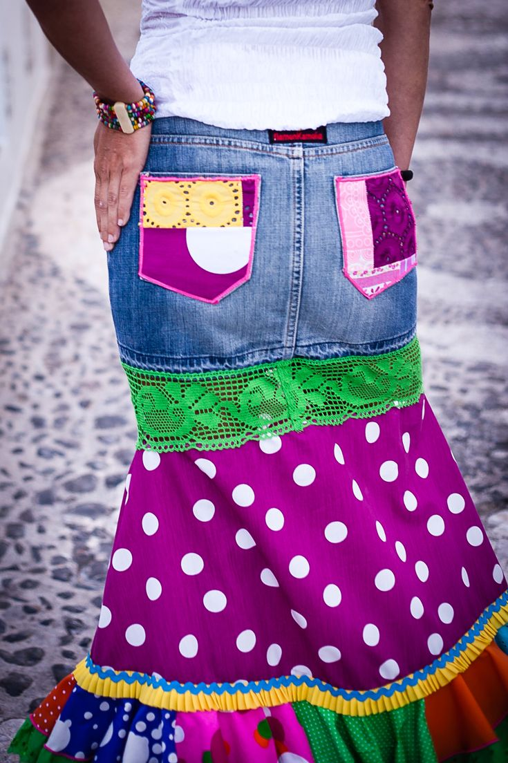 Urban Flamenco Long Skirt by Flamenkamelia www.madeinfrigiliana.com
