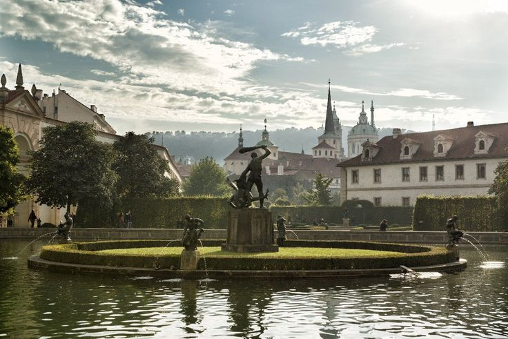 Valdštejnská zahrada foto Prague City Tour