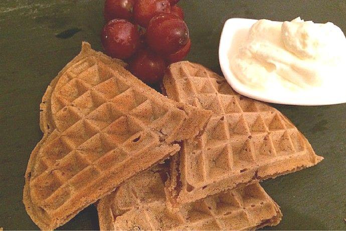 Leckere Zimtwaffeln ❤️ Mein liebstes Sonntagsfrühstück ☺️
