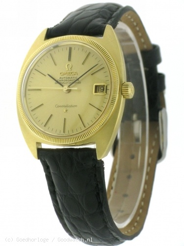 VINTAGE - Omega Constellation Chronometer 18K gold :: Goedhorloge.nl