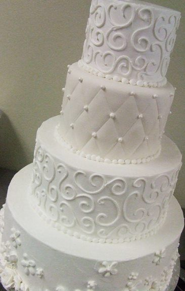 A Wedding Cake From Bluebonnet Bakery In Fort Worth Who Made My