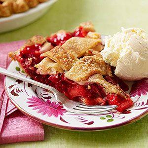 Strawberry-Rhubarb Pie | Recipe | Strawberry Rhubarb Pie, Rhubarb ...