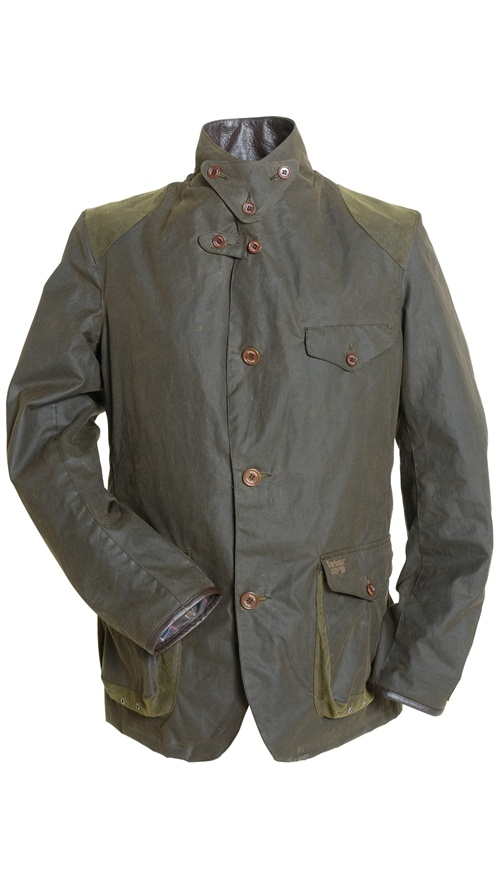 Barbour Commander Jacket Green