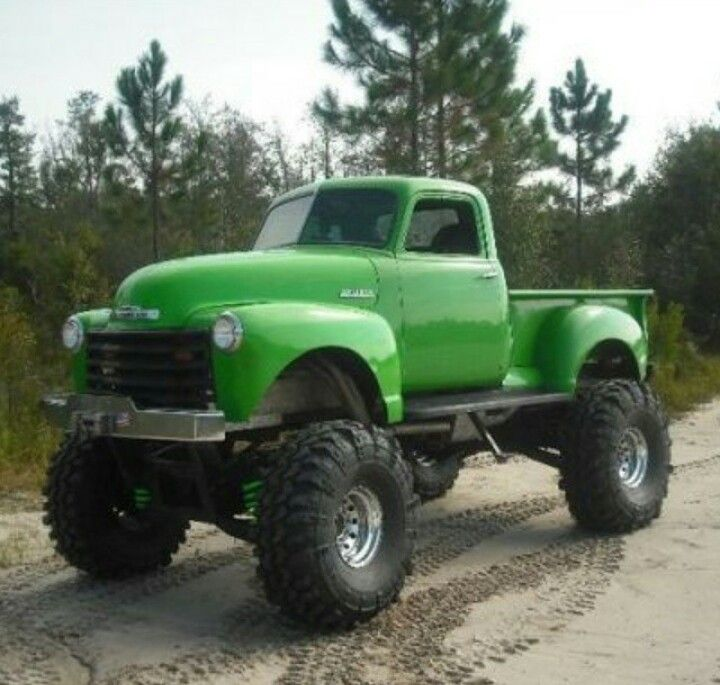 17 Best images about Old Jacked-Up Pickups on Pinterest ...
