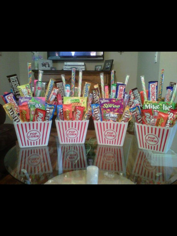 Candy Centerpieces                                                       …