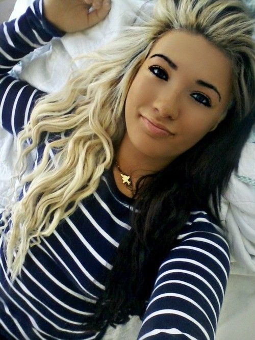 20 Best Two Tone Hair Color Ideas Images On Pinterest Hairdos