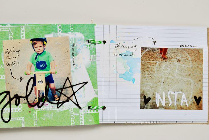Olennka : albums & artjournals