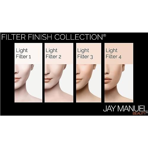 Jay Manuel Beauty® Powder to Cream Foundation - Light Filter 2