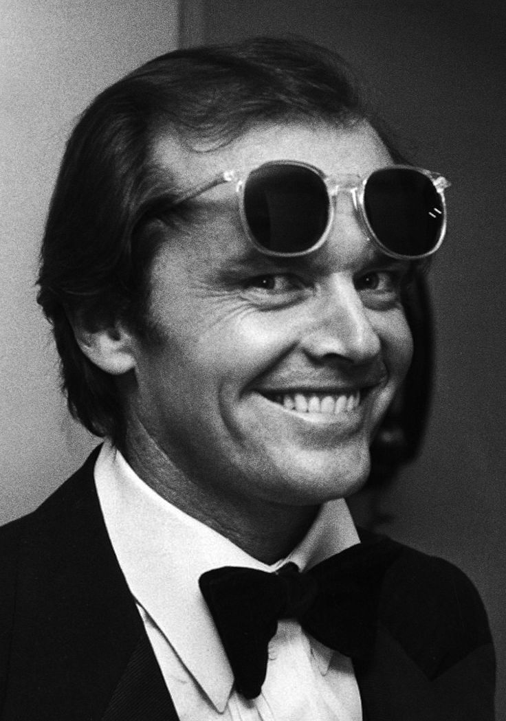 Jack Nicholson photographed by Ron Galella, 1978.