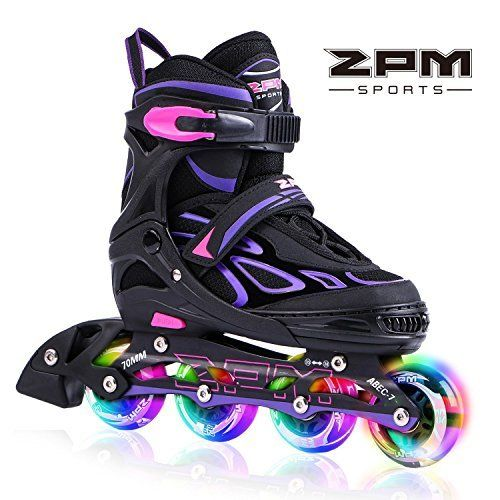 Your Brand New Rollerblades As the summer is coming, get your girls a perfect pair of skates to feel the wind blow on these sun-filled days. The 2pm Vinal inline skates is an excellent choice for kids who want to get into skating, and you will love them for their great value. With our special... more details available at https://perfect-gifts.bestselleroutlets.com/gifts-for-teens/skates-skateboards-scooters/product-review-for-2pm-sports-vinal-girls-adjustable-flashing-inline-